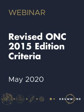 Revised ONC 2015 Criteria