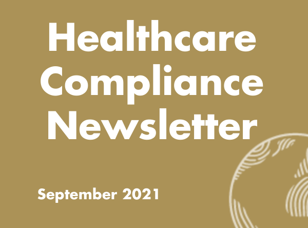 Healthcare Compliance Newsletter